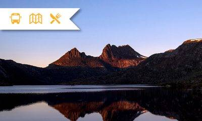 Cradle mountain at twilight