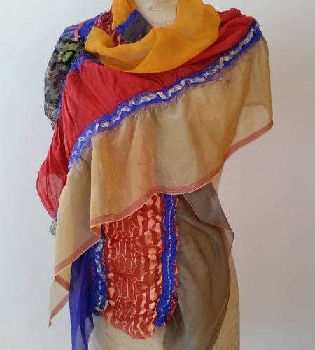 Silk Artscarf Wrap by June Hope